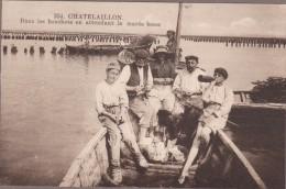 17-CHATELAILLON-Dans Les Bouchots En Attendant La Marée Basse... Animé - Châtelaillon-Plage
