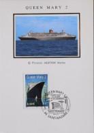 FR. 2003 - CP.1er Jour - QUEEN MARY 2 - Y & T N° 3631 - St-Nazaire 12.12.2003 - SUPERBE - - Cartes-Maximum