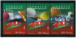 AC - TURKEY STAMP - THE 100th YEAR OF KARSIYAKA SPORTS CLUB IZMIR MNH 01 NOVEMBER 2012 - Nuevos
