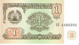 Tajikistan - Pick 1 - 1 Ruble 1994 - Unc - Tagikistan