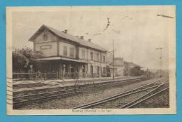CPSM - Chemin De Fer La Gare BOULAY 57 - Boulay Moselle