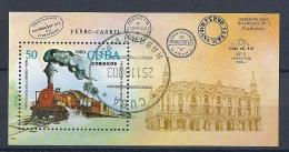 Cuba 1980 -  Mail By Train -  Y&T B64  Mi. B65 Cancelled, MNH, Neuf, Postfrisch - Eisenbahnen