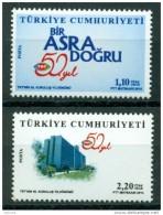 AC - TURKEY STAMP - 50th ANNIVERSARY OF TRT - TURKISH RADIO & TELEVISION MNH 20 FEBRUARY 2014 - 1921-... República