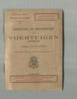 - -**BELGISCH LEGER .   ****  Inspectie En Onderhoud Van VOERTUIGEN(gewield)- Dagelijkse  Taken-maart 1945 - Ontwikkeling