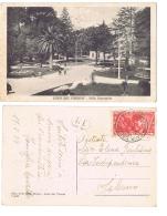 CAVA DEI TIRRENI ( SALERNO ) VILLA COMUNALE - EDIZ. F.LLI DELLA ROCCA - 1933 - Cava De' Tirreni