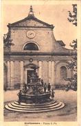 GROTTAMMARE_Piazza San Pio _Vg Il 2/9/1921 X Valenza_Originale 100%-Ottima Conservazione_2 Scan - Ascoli Piceno