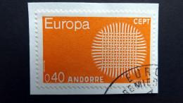 Andorra Franz. 222 Oo/used, EUROPA/CEPT 1970