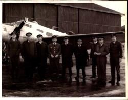 Militaire, Angleterre,  Aviation R.A.F  St Atlan, 1969    (bon Etat) Dim: 20 X 16. - Guerra, Militari