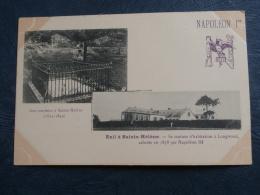 Napoléon Ier  Tombeau à St Hélène  Et Sa Maison à Longwood - Précurseur - L269 - Sainte-Hélène