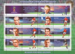 Russland Russia 2015 MNH ** Mi Nr. 2259-2265 FIFA World Cup 2018. Legends Of Russian Football - 2018 – Russland