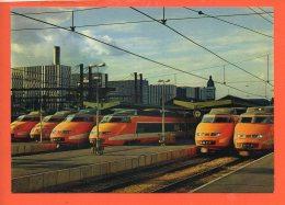 Chemin De Fer - TGV Paris Sud Est - Paris Gare De Lyon (non écrite) - Trains