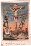SANTINO LA PASSIONE DI CRISTO  ANNI 10 BELLISSIMO - Religione & Esoterismo