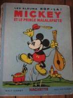 ALBUM HOP LA MICKEY ET LE PRINCE MALALAPATTE - Disney