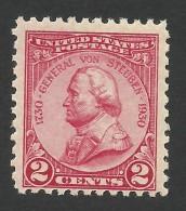 United States, 2 C. 1930, Sc # 689, Mi # 330, MNH - Nuovi