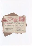 Nachnahme Stempel Tampon  Speyer Metz Pilzer Druckerei Deutsche  Reichspost 12-11-1942 - Allemagne