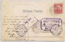 CTN35/1 -  PERNAMBUCO / PARIS 6/8/1910 - Postmark Collection (Covers)