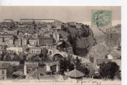 CPA.Algerie.Constantine. 1906.Vue Générale Prise De Mansourah. - Constantine