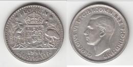 **** AUSTRALIE - AUSTRALIA - 1 FLORIN 1946 - ONE FLORIN 1946 - ARGENT - SILVER **** EN ACHAT IMMEDIAT !!! - Monnaie Pré-décimale (1910-1965)