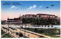 NOVISAD (Jugoslawien) - Petrovaradin, 2 Doppeldecker, Gel.1931, 2 Marken - Jugoslawien
