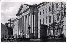 TARTU (Estland) - Ülikol, Dorpat.Universität, Gel.1936, 15 S Marke - Estland