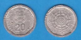 """PORTUGAL  20 ESCUDOS  1.988 KM#634 REPLICA  Colección """"LO QUE EL EURO SE LLEVO"""" SC/UNC  Réplica  T-DL-11.569 - Portogallo"""