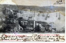Türkei - Souvenir De Constantinople - Palais Du Sultan Au Bosphore - Türkei