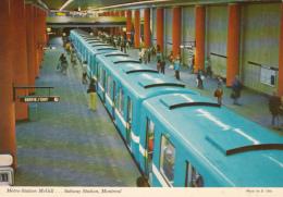 Montréal Québec Canada - Subway Métro - McGill Station - 2 Scans - Subway