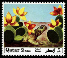 Qatar 1971 ** MNH. Turtle Schildkröte Tortue - Schildkröten