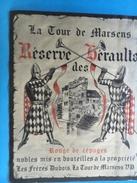1683 - Suisse Vaud La Tour De Marsens Réserve Des Héraults Rouge De Cépages - Etiquettes