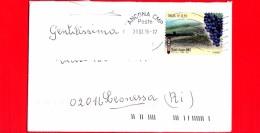 ITALIA ~ Storia Postale ~ Busta Del 2016 ~ {2015 - Made In Italy: Vini DOCG - Chianti Classico (Toscana) - Isolato - 6. 1946-.. Repubblica