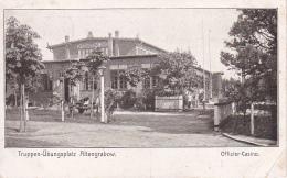 AK Truppen-Übungsplatz Altengrabow - Sachsen-Anhalt - Offizier-Casino - Feldpost 1909  (24917) - Kasernen