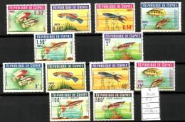 GUINEA Pesci Fish Serie Completa Nuova ** MNH - Guinea (1958-...)