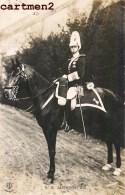 CARTE PHOTO : ALPHONSE XIII REY ESPANA FAMILE REAL 1900 CAVALIER CHEVAL - Familias Reales