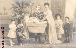 FAMIGLIA REALE ITALIANA RE E REGINA VITTORIO EMMANUEL III FAMILLE ROYALE ITALIENNE ITALIA PRINCIPE - Case Reali