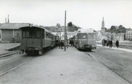 Chemins De Fer Des Côtes  Du Nord. Gare De Binic. Photo Jacques Bazin. 12/07/1959 - Trenes