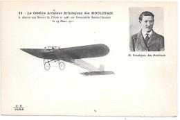 AVIATEUR - Le Célèbre Aviateur BRINDEJONC DES MOULINAIS - Aviatori
