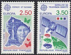 FRANCE Francia Frankreich - 1991, Série Complète Yvert 2696/2697 - 2,50  Et 3,50 F, Neufs, Parfaits - France