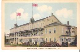 Hotel Bellevue, La Pointe, Riviere-du-Loup, Quebec - Ste. Anne De Beaupré