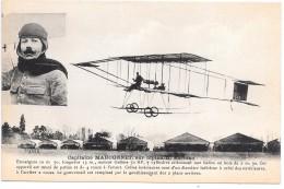 AVIATEUR - Capitaine MARCONNET Sur Biplan H. Farman - Aviatori