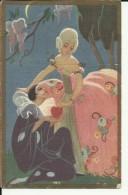 TH1480   --  CARLO CHIOSTRI  Pinx.  --  ART DECO   --   EDIT.:  BALLERINI &  FRATINI   -- No. 91 - Chiostri, Carlo