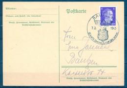 ALEMANIA 1943 , BAUTZEN , MATASELLOS DE PROPAGANDA - Cartas
