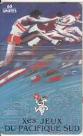 FRENCH POLYNESIA(chip) - Jeux Pacifique/Coureurs, Tirage 20000, 08/95, Mint - Polynésie Française