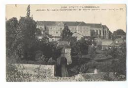 CPA - 71 - SEMUR En BRIONNAIS - Annexe De L'Asile Départemental De Macon - ZZ 1095 - Altri Comuni