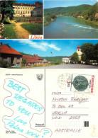 Liblin, Czech Republic Postcard Posted 1990 Stamp - Czech Republic