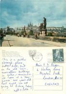 Prague Praha, Czech Republic Postcard Posted 1963 Stamp - Czech Republic