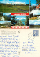 Vysoke Tatry, Slovakia Postcard Posted 1976 Stamp - Slovakia