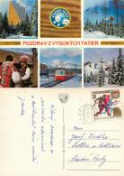 Vysoke Tatry, Slovakia Postcard Posted 1972 Stamp - Slovakia