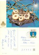 Christmas, Czech Republic Postcard Posted 1989 Stamp - Czech Republic
