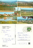 Hop Farming, Rakovnik, Czech Republic Postcard Posted 1991 Stamp - Czech Republic