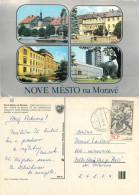 Nove Mesto Na Morave, Czech Republic Postcard Posted 1982 Stamp - Czech Republic